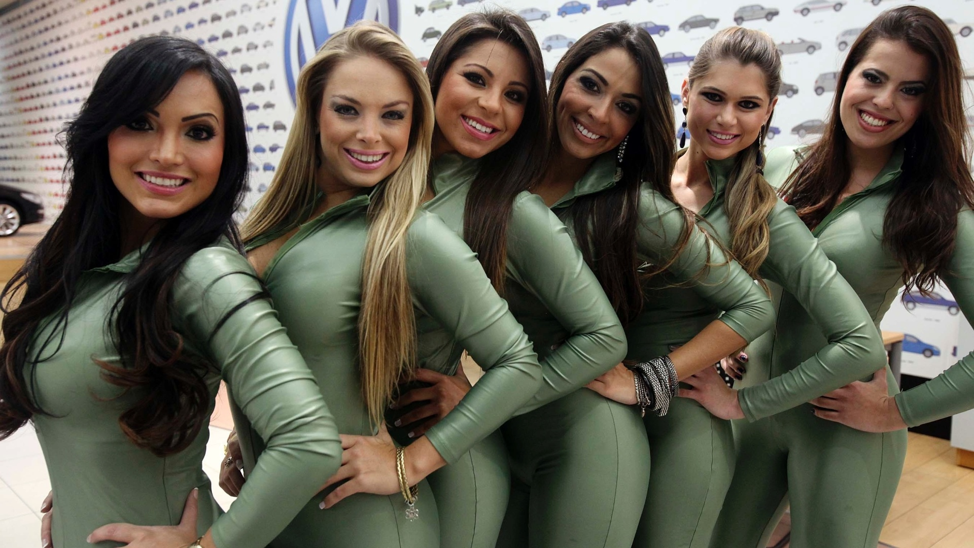 Candidatas a gata da Frmula Indy exibem sua beleza