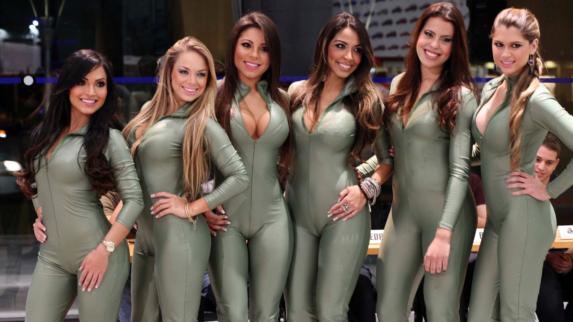 Concurso gata da Frmula Indy tem belas candidatas