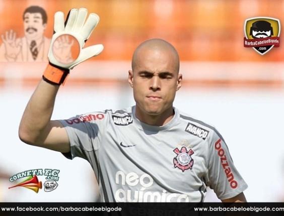 Corneta FC: Julio César mãos furadas