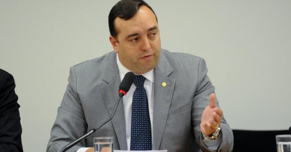 O deputado Fernando Francischini (PSDB-PR) é ex-delegado da Polícia Federal e está em seu primeiro mandato. Ele é integrante da CPI
