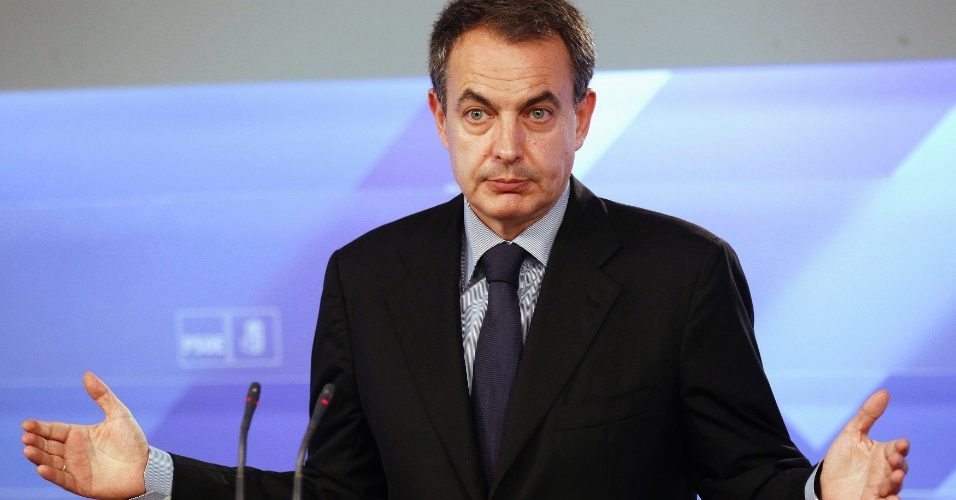 O ex-premi&#234; espanhol Jos&#233; Luis Rodr&#237;guez Zapatero perdeu as elei&#231;&#245;es legislativas para o conservador Mariano Rajoy, em novembro de 2011