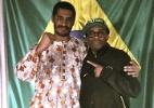 No Brasil, Spike Lee entrevista o rapper Criolo para documentário sobre o país - Reprodução/Facebook
