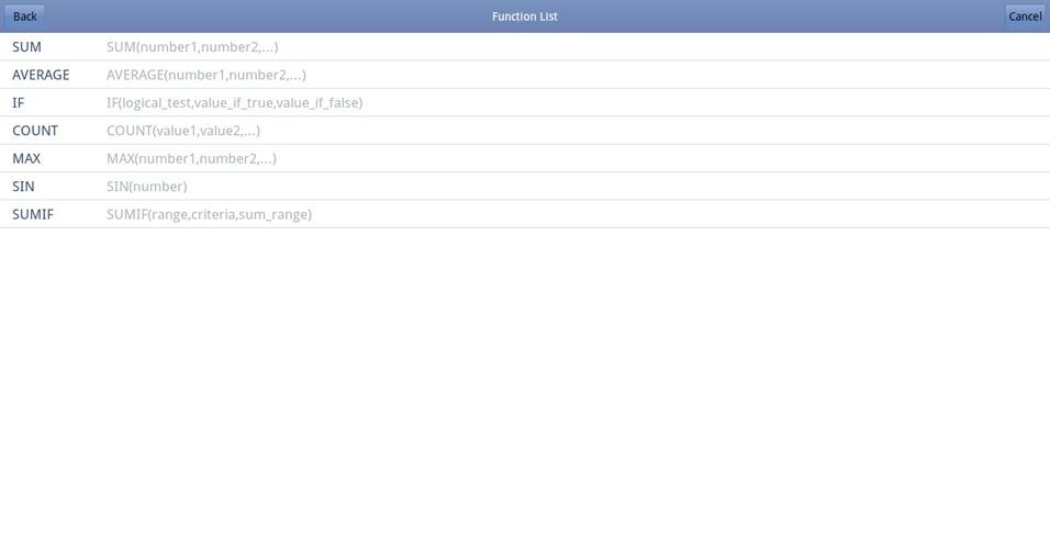 Programa Kingsoft Office para sistema operacional Android