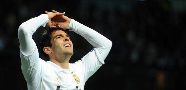 Brasileiro Kaká não tem espaço no Real Madrid e está fora dos planos do Milan