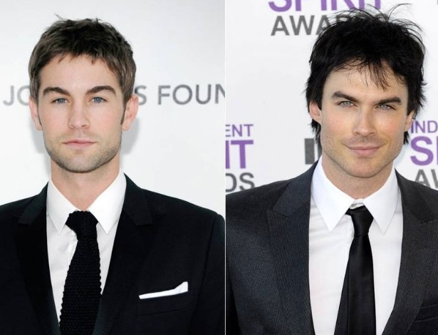 Chace Crawford (esq.) e Ian Somerhalder (dir.)