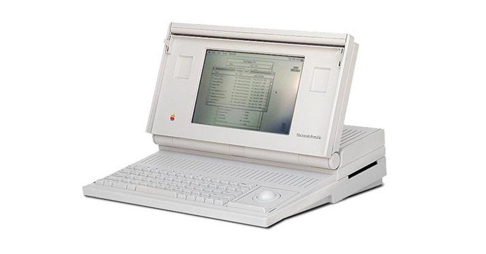 Computador Macintosh Portable, da Apple
