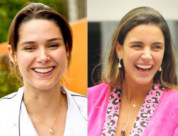 Fernanda Machado (esq.) e Laisa Portela (dir.)