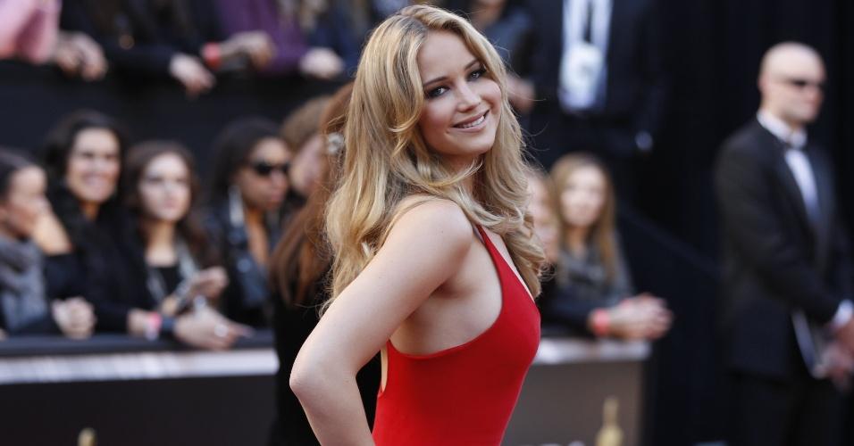 """Jennifer na festa do Oscar de 2011, quando ela concorreu à estatueta de melhor atriz por """"Inverno da Alma"""""""