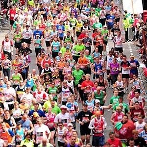 Maratona de Londres foi realizada no último domingo