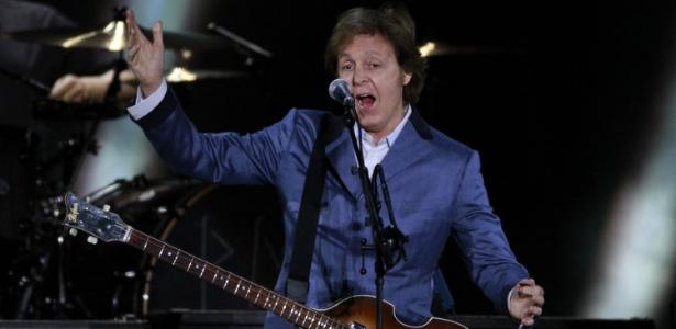 Paul McCartney faz show em Florianópolis (25/04/2012)