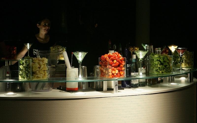 25.abr.2012 - Coquetéis servidos pela Bar & Barman (www.barebarman.com.br) no 3º Bride Style