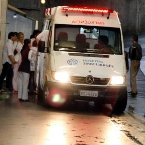 Pedro leonardo d entrada no hospital s rio liban s em - Hospital sirio libanes sao paulo ...