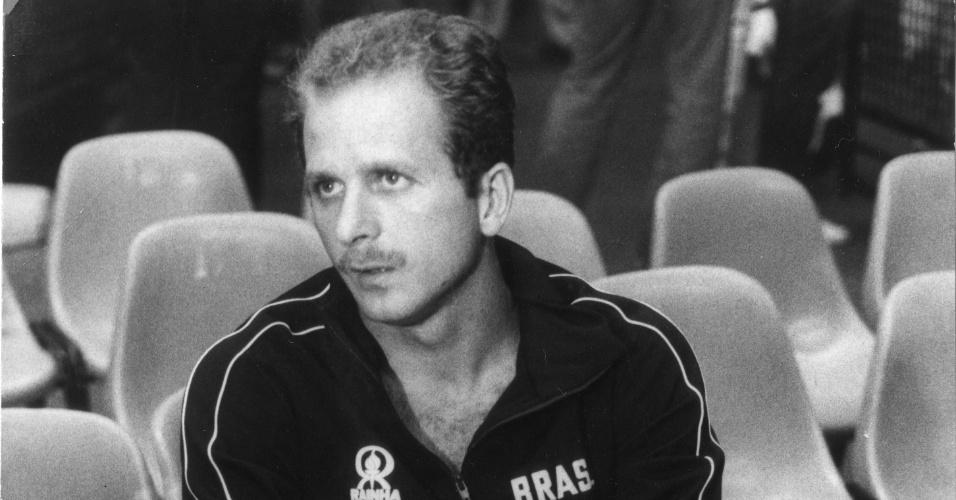 Bernard, ex-jogador da seleção brasileira de vôlei e medalhista de prata na Olimpíada de Los Angeles-1984