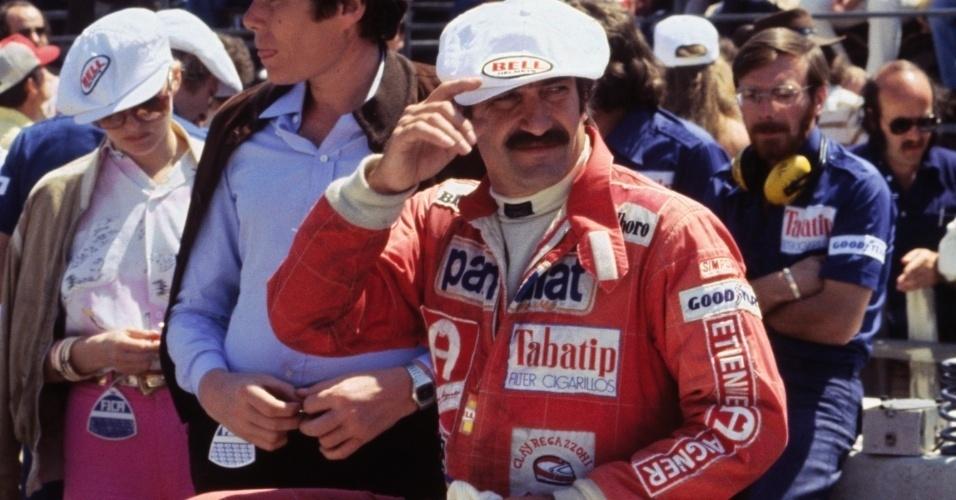 Clay Regazzoni, piloto suíço que disputou a Fórmula 1 na década de 70