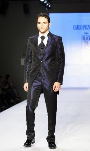 Coleção masculina de Carlo Pignatelli para a Black Tie (25.04.2012)