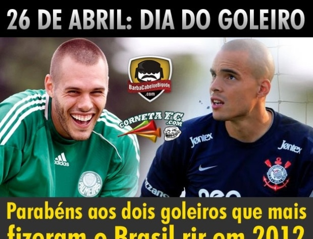Corneta FC: Craques que devem ser lembrados no Dia do Goleiro