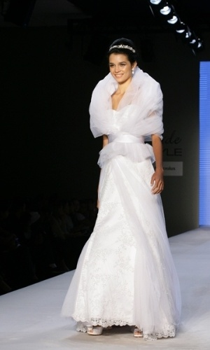 Desfile de Dani Messih no Bride Style 2012
