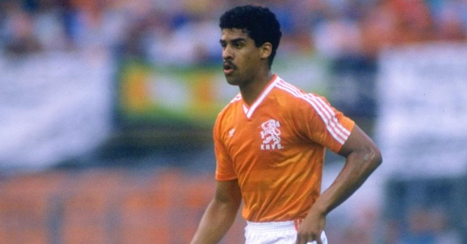 Frank Rijkaard, ex-jogador da seleção holandesa