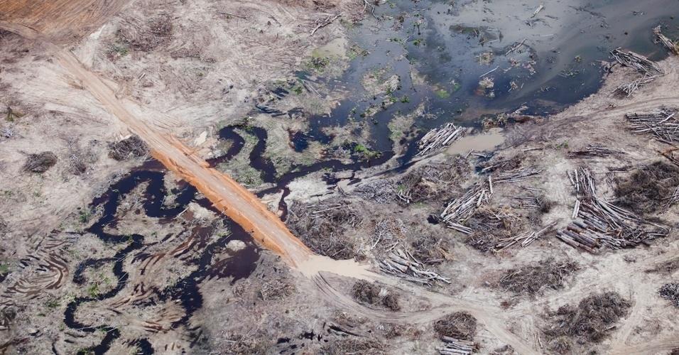 Greenpeace sobrevooa canteiros das obras de Belo Monte - 3