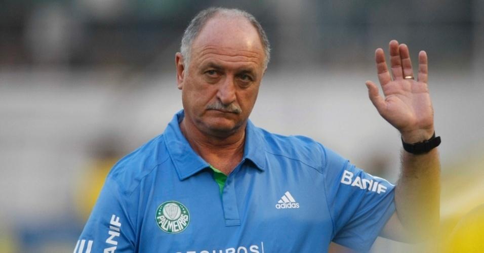 Luiz Felipe Scolari, atual técnico do Palmeiras e treinador da seleção brasileira na Copa do Mundo de 2002