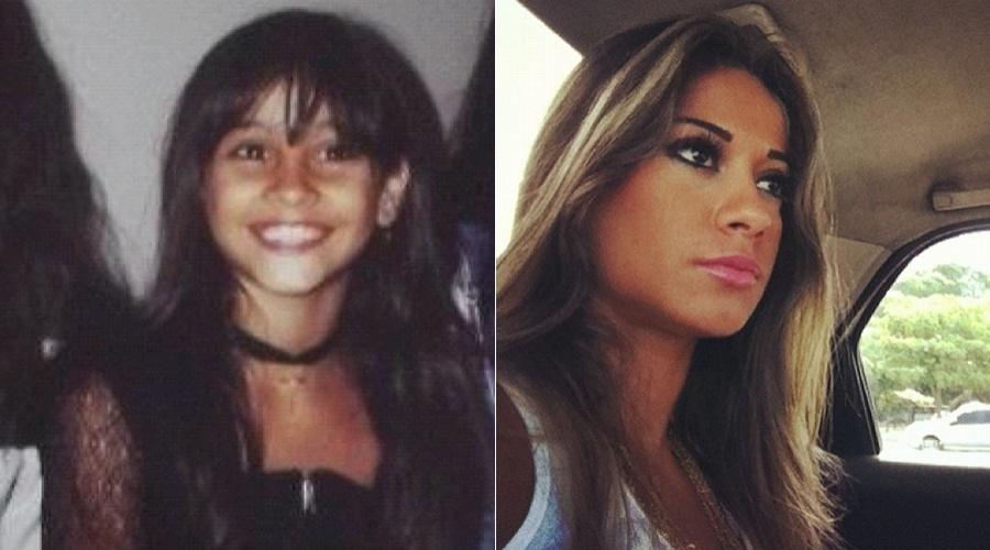 Ex-BBB Mayra Cardi mostra imagem da infância (26/4/12)