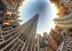 """Fotógrafo americano cria paisagens surreais com """"colagens"""" em 360 graus - Randy Scott Slavin / Rex Features"""