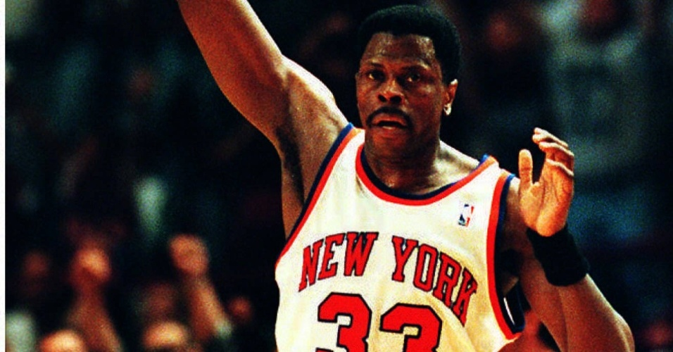Patrick Ewing, ex-jogador do New York Knicks na NBA
