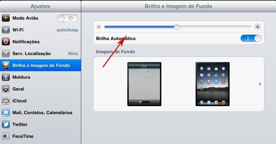 Print do tablet iPad