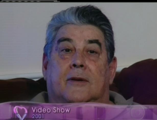 Sobre sua doença (câncer) e de seu pai, Reynaldo Cisoto Gianecchini, que faleceu em outubro de 2011 por conta de um câncer no pâncreas, o ator contou que aprendeu a valorizar cada momento da vida. Na foto o pai do ator (26/4/12)
