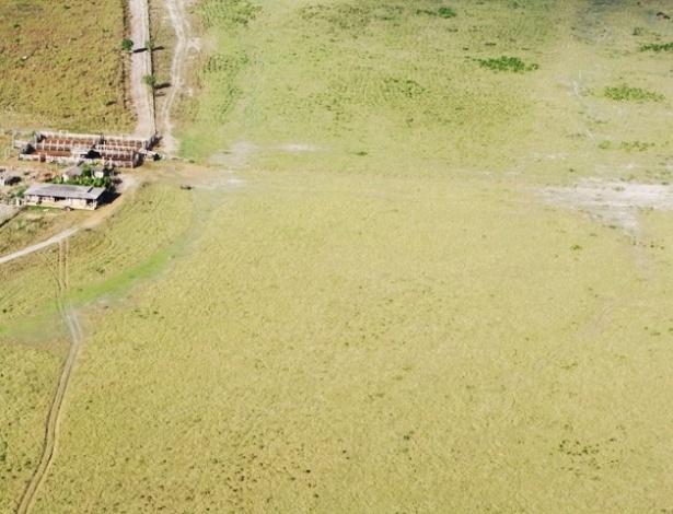 27.abr.2012 - Fazendas ocupam grandes áreas nas proximidades da região onde será construída a usina hidrelétrica de Belo Monte, no rio Xingu, no Pará, segundo a Norte Energia, empreendedor responsável pela construção e operação da usina