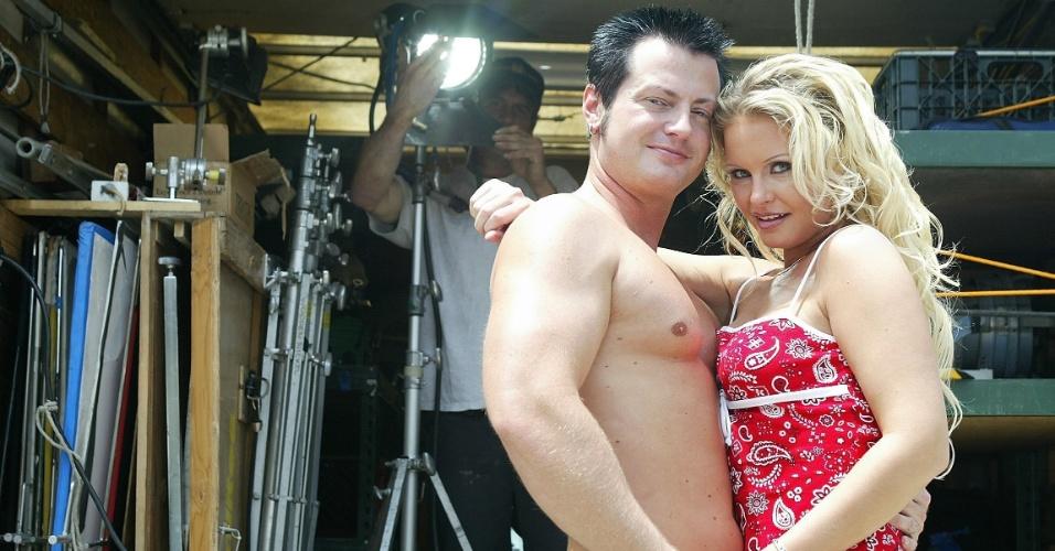 Casal de atores pornôs Eric Masterson e Wendy Devine gravam filme nos Estados Unidos