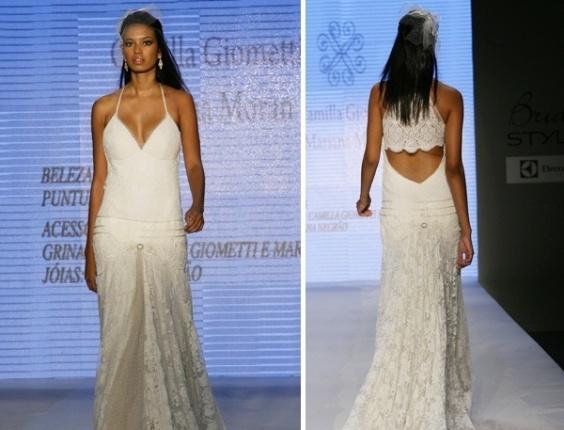 Desfile Camilla Giometti no Bride Style 2012