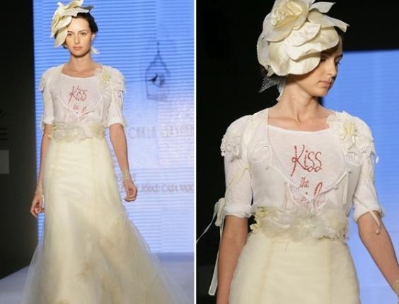 Desfile Carla Gaspar no Bride Style 2012