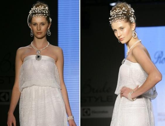 Desfile Rosana Chinche no Bride Style 2012