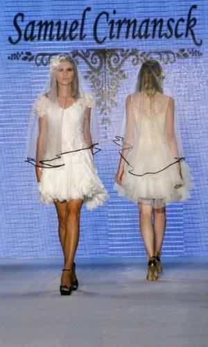 Desfile Samuel Cirnansck no Bride Style 2012