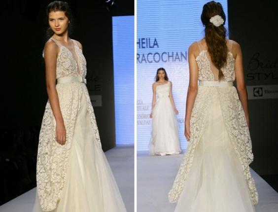 Desfile Sheila Kracochansky no Bride Style 2012