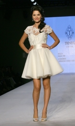 Desfile Trinitá Couture no Bride Style 2012