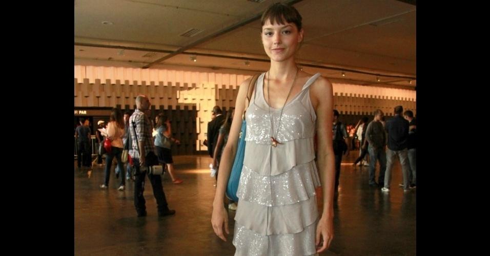 Mallu Magalhães na Fashion Rio 2012