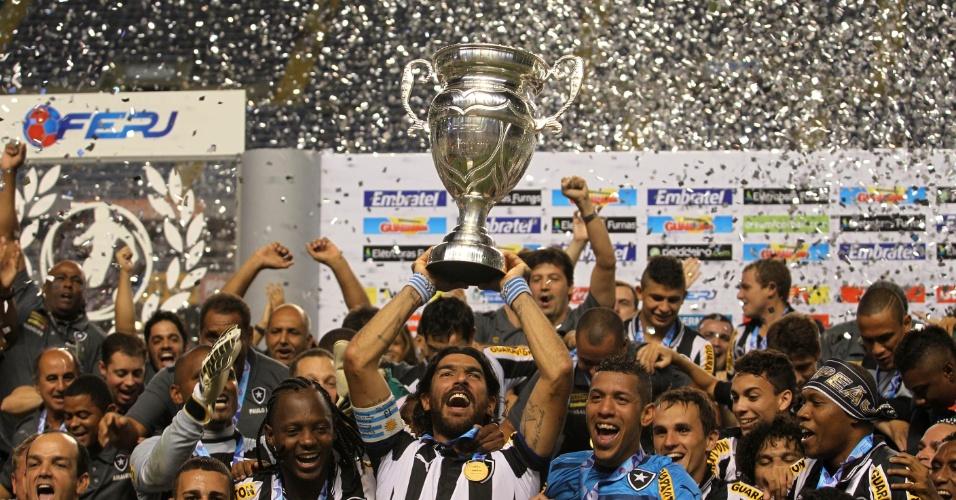 Loco Abreu, Márcio Azevedo e Cia decidem, derrotam o Vasco e o Botafogo fatura Taça Rio e faz final carioca contra o Fluminense