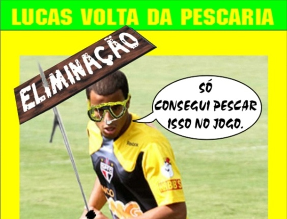 Corneta FC: Lucas volta de pescaria frustrada