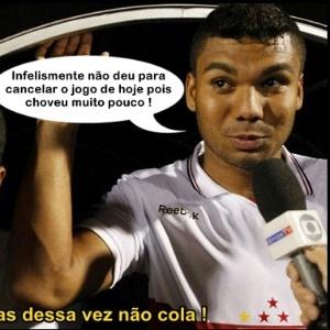 Corneta FC: Não deu para colocar a culpa na chuva