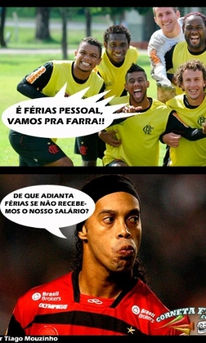 Corneta FC: Ronaldinho no v graa nas frias