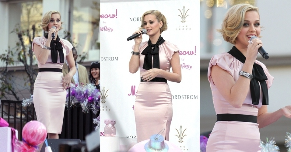 Katy Perry look Moschino