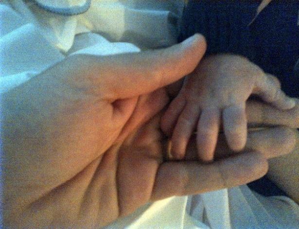 Marcus Buaiz publica foto com o filho e declara seu amor pelo primogênito (29/4/12)