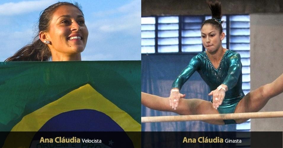 No atletismo e na ginástica, Brasil é representado por atletas chamadas Ana Cláudia