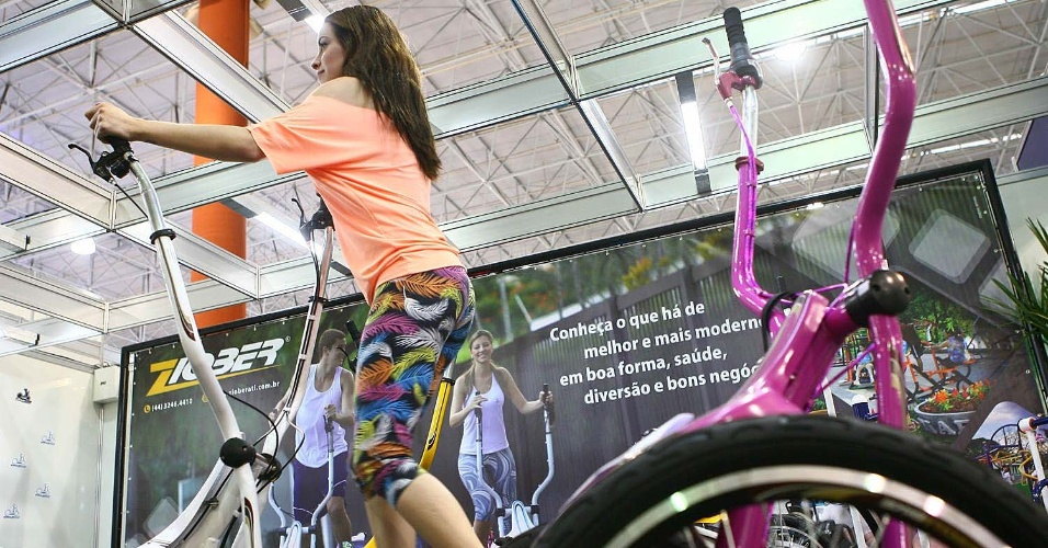 Esquibike na Expo Fitness Brasil 2012
