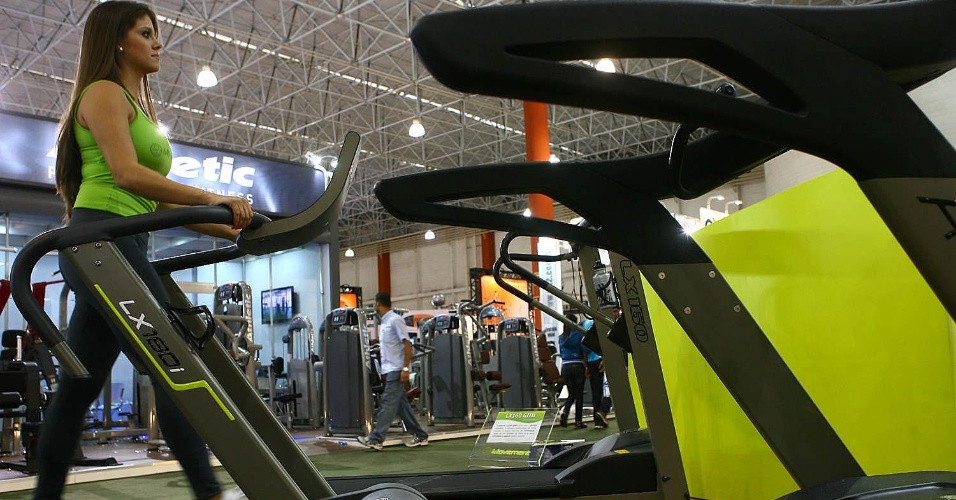 Esteira Movement na Expo Fitness Brasil 2012