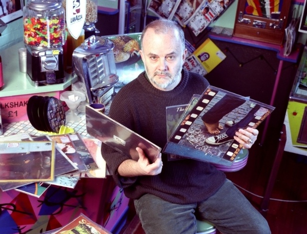 O apresentador de r&#225;dio brit&#226;nico John Peel 