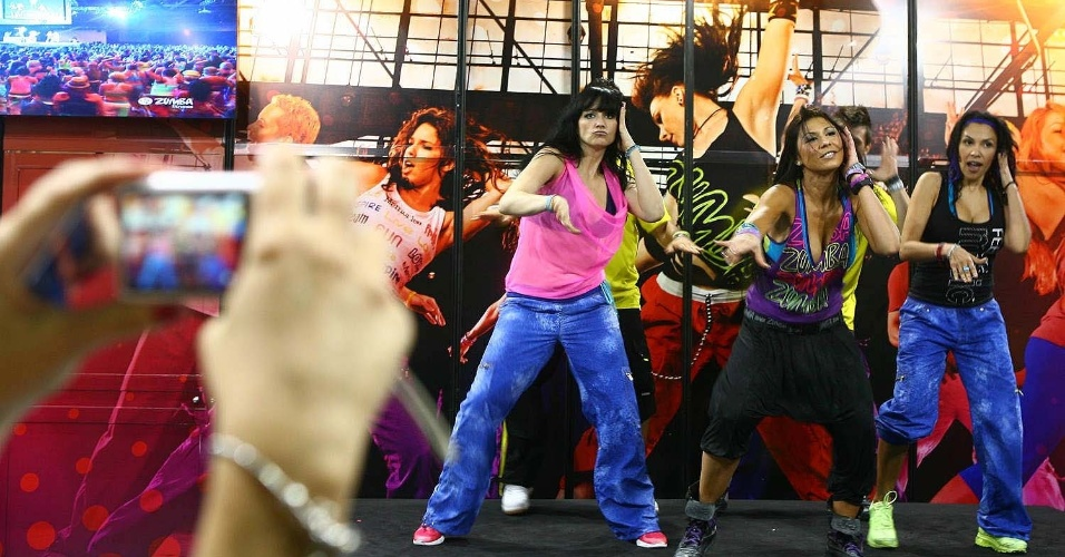 Zumba na Fitness Brasil 2012