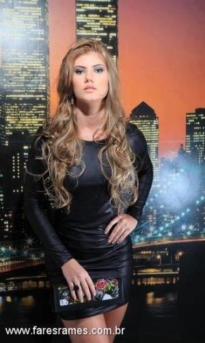 Angela, 17, de Primavera do Leste, candidata do Miss Mundo Mato Grosso 2013